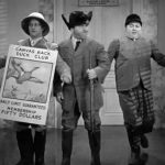 A Ducking They Did Go - Larry, Moe, Curly sell memberships to a duck club