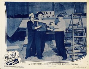 Booby Dupes - Three Stooges lobby card