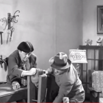 Slaphappy Sleuths - the Three Stooges torture one of the crooks
