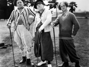 Three Little Beers - the Three Stooges go golfing