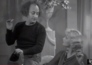 Three Little Pigskins, Larry Fine and Lucille Ball