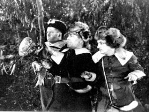 Back to the Woods - the Three Stooges - Moe, Larry, Curly